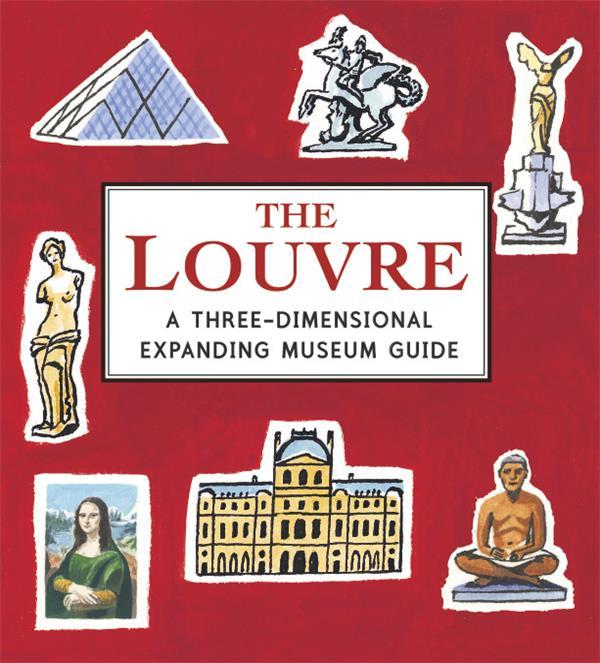 Petit pop-up panoramique ; le Louvre