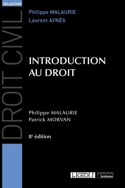 Introduction au droit (8e édition)
