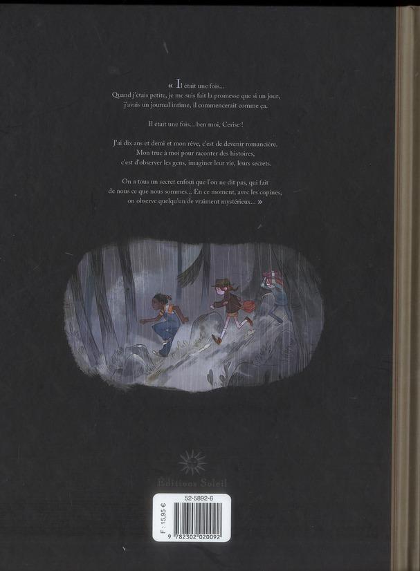 Les carnets de Cerise T.1 ; le zoo pétrifié