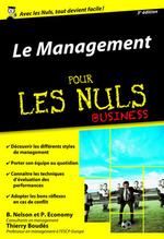 Le Management pour les Nuls poche Business, 3e édition  - Thierry BOUDÈS - Peter ECONOMY - Bob Nelson
