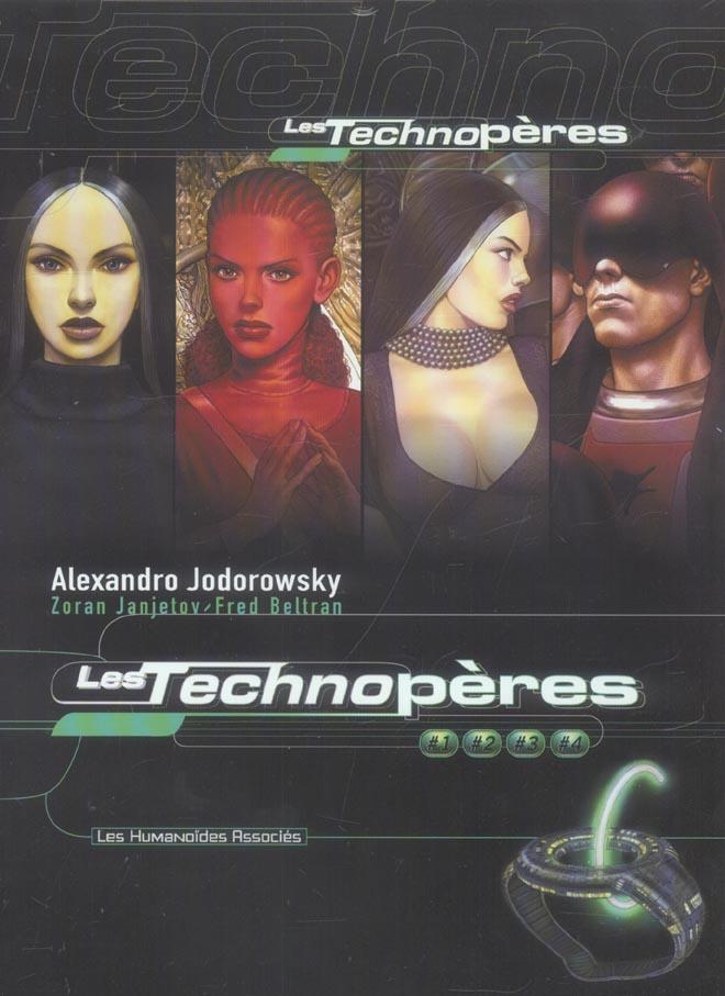 les Technopères ; coffret t.1 à t.4
