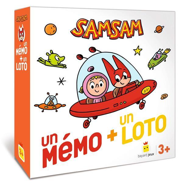 SamSam ; un mémo + un loto