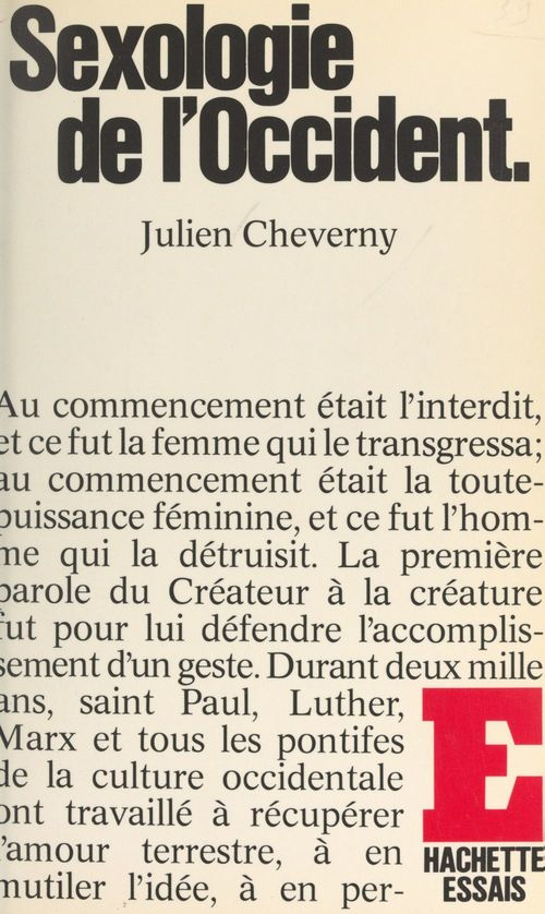 Sexologie de l'Occident