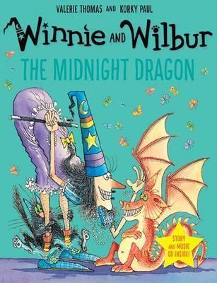 Winnie and Wilbur: The Midnight Dragon (Paperback & CD)