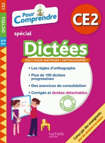POUR COMPRENDRE SPECIAL DICTEES  -  CE2  BERLION, DANIEL