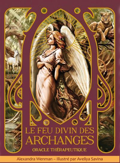 le feu divin des archanges : oracle thérapeutique