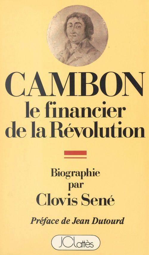 Joseph Cambon, 1756-1820