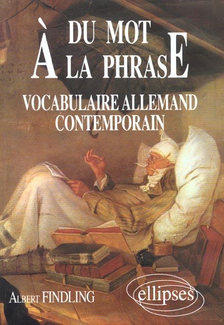 Du mot a la phrase - vocabulaire allemand contemporain