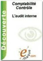 L'audit interne  - Olivier Lemant