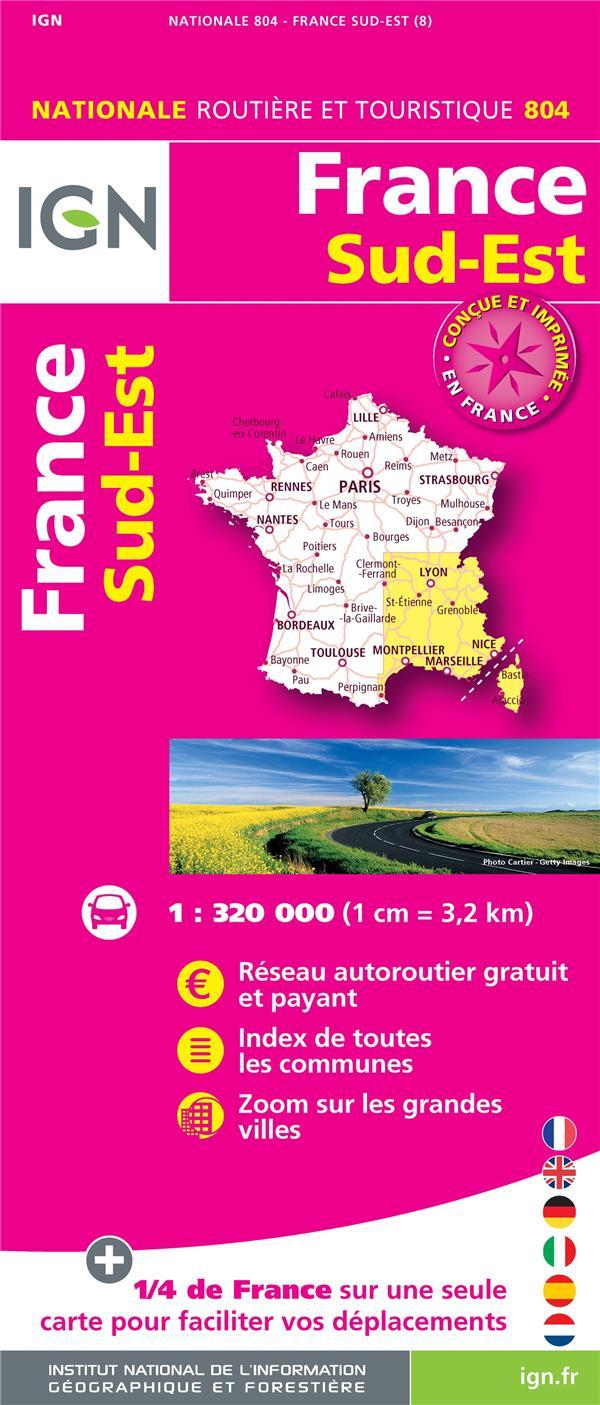 1M804 ; France Sud-Est (8e édition)