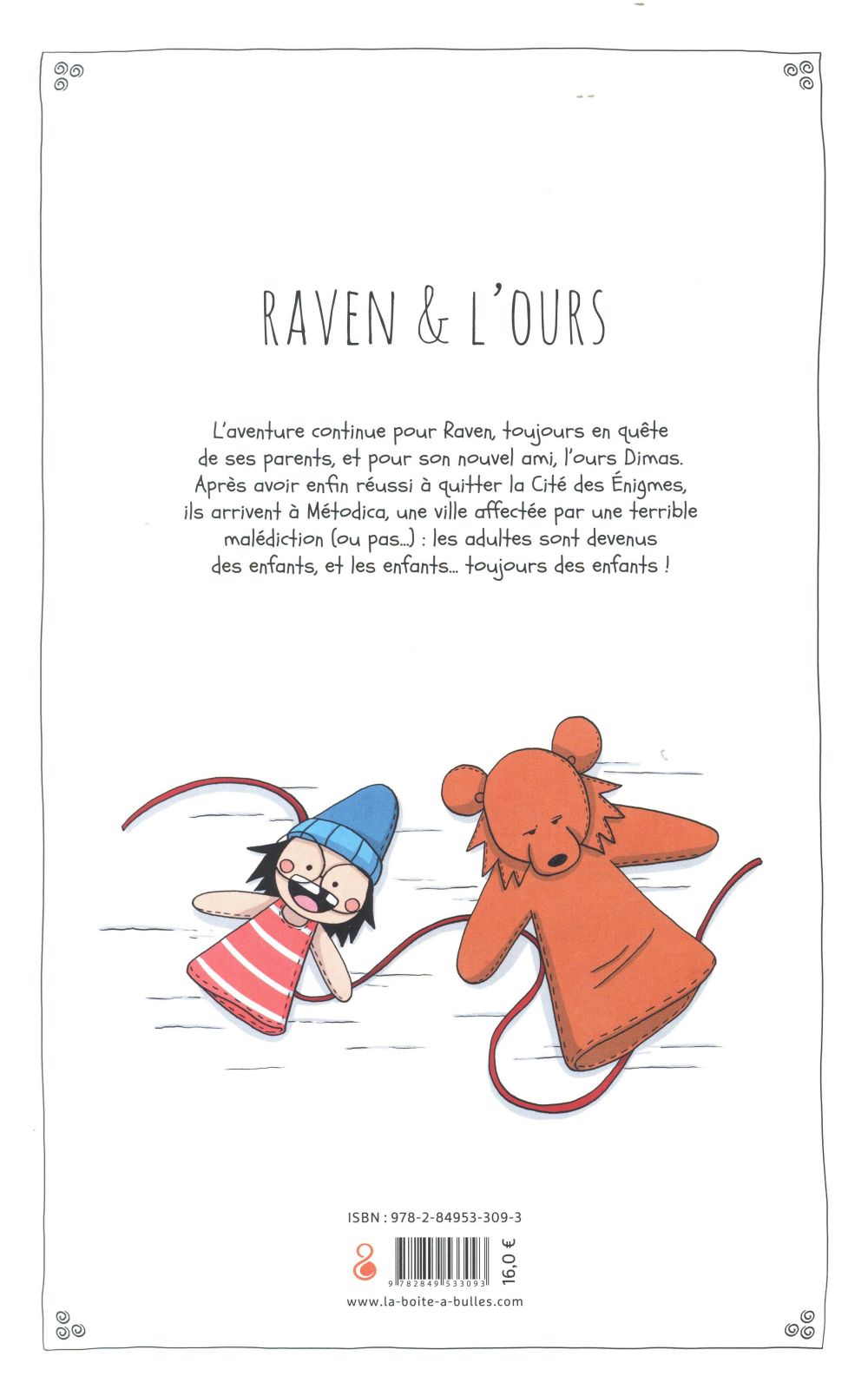 Raven & l'ours T.2