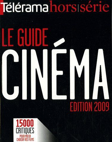 Revue Telerama; Le Guide Du Cinema (Edition 2009)