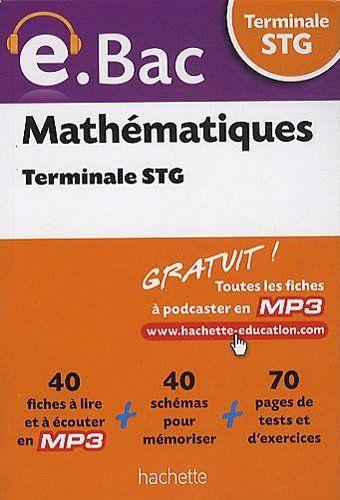 E.Bac - Mathematiques Terminale Stg
