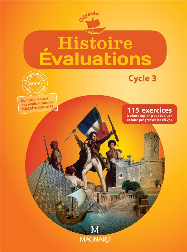 Odysseo; Histoire Evaluation ; Cycle 3 ; Fichier Photocopiable