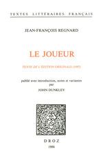 Vente Livre Numérique : Le Joueur. Texte de l´édition originale (1697)  - Jean-François Regnard