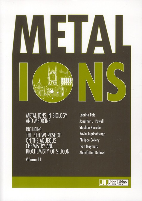 Metal Ions In Biology And Medicine T.11