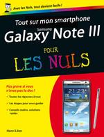 Vente Livre Numérique : Tout sur mon smartphone Galaxy Note 3 Pour les Nuls  - Henri Lilen