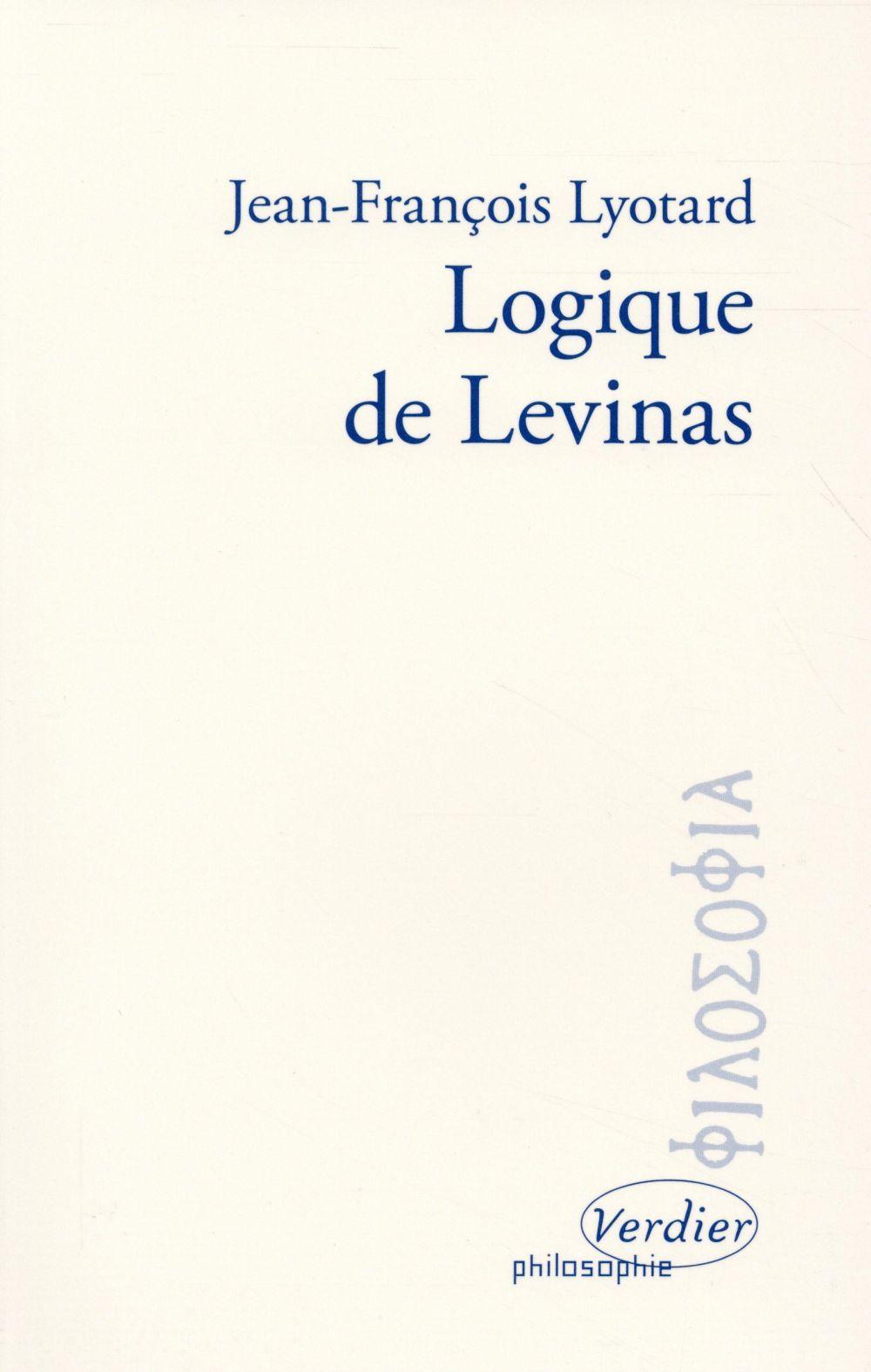 Logique de Levinas