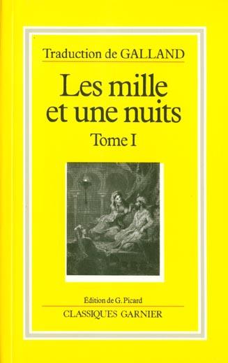 Les mille et une nuits t.1