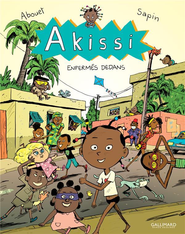 Akissi T.10 ; enfermés dedans