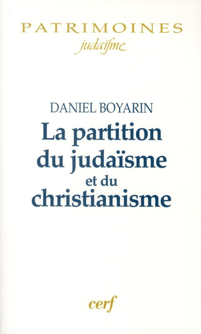 La partition du judaisme et du christianisme