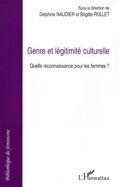 Genre et légitimité culturelle