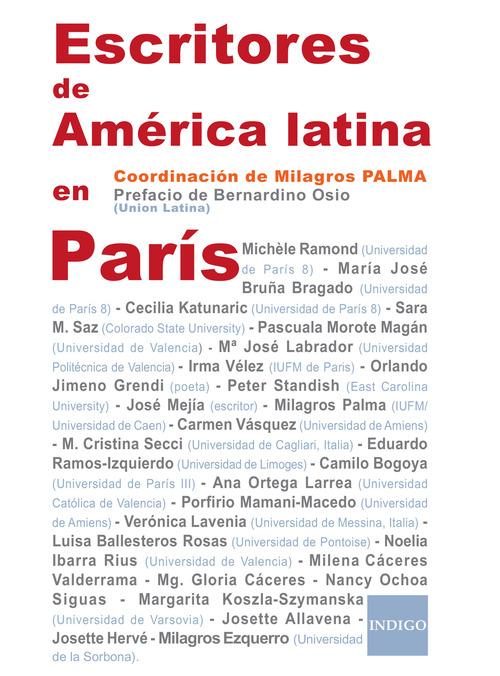 Escritores de América latina en París