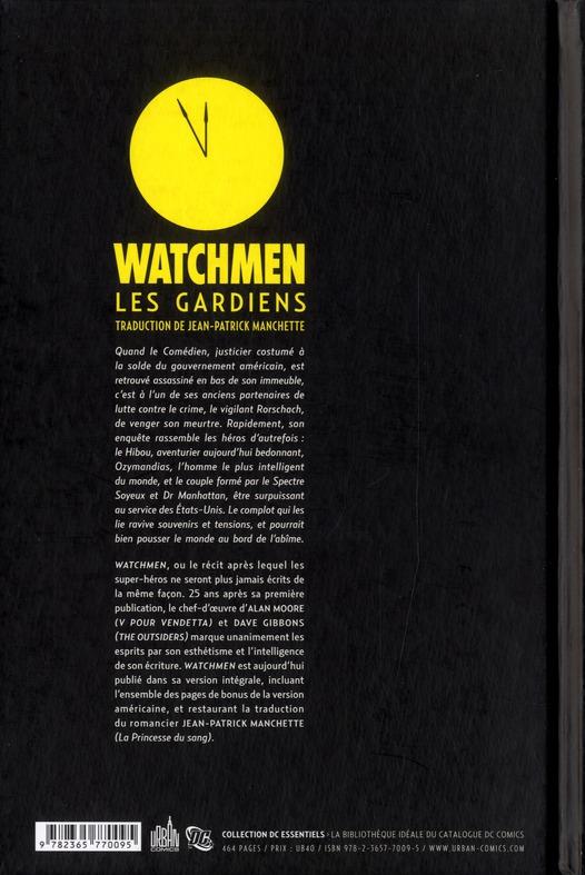 Watchmen ; les gardiens ; INTEGRALE