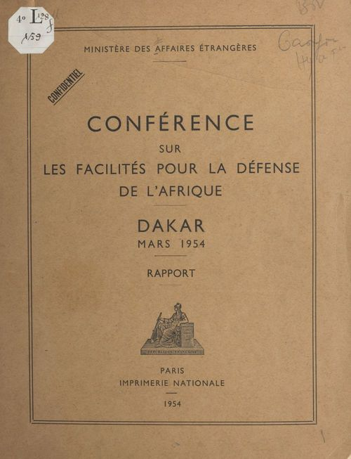 Conférence sur les facilités pour la défense de l'Afrique