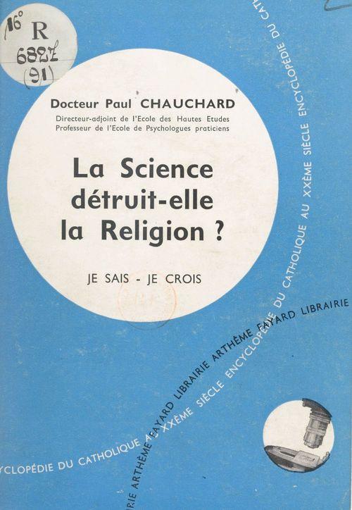 Les problèmes du monde et de l'Église (9)  - Paul Chauchard