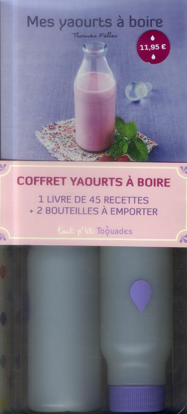 Coffret ; mes yaourts à boire