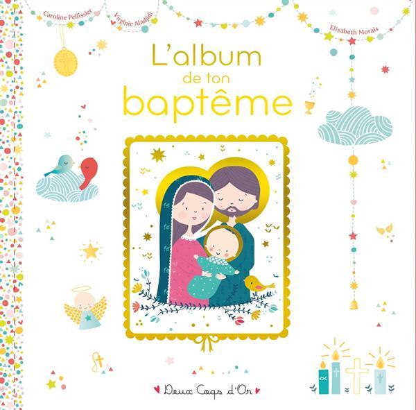 Mon livre de baptême avec icône sur bois