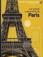 Couverture de Les grands monuments de paris