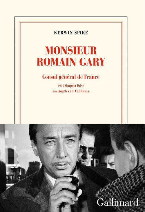 monsieur Romain Gary ; consul général de France