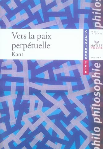 Vers La Paix Perpetuelle