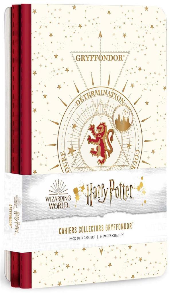 Harry Potter ; constellation ; 3 cahiers gryffondor