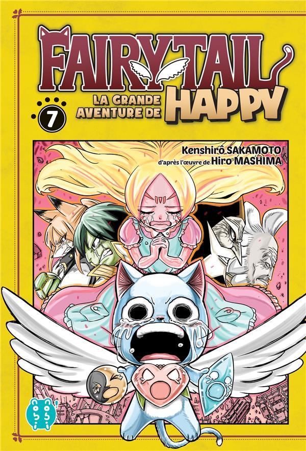 Fairy Tail - la grande aventure de Happy T.7