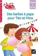 Vente Livre Numérique : Des barbes à papa pour Téo et Nina  - Marie-Hélène Van Tilbeurgh - Isabelle Chavigny