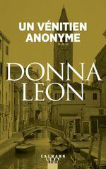 Vente Livre Numérique : Un vénitien anonyme  - Donna Leon