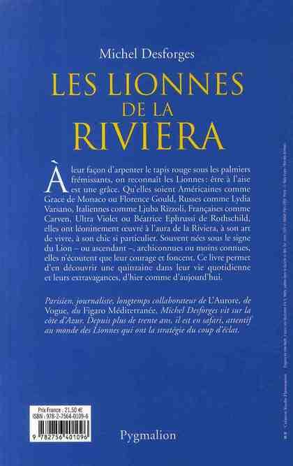 Les lionnes de la Riviera