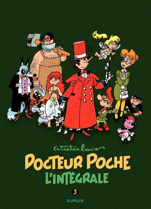 Docteur Poche ; INTEGRALE VOL.3 ; 1984-1989