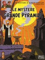 Couverture de Blake et mortimer t.5 ; le mystère de la grande pyramide t.2