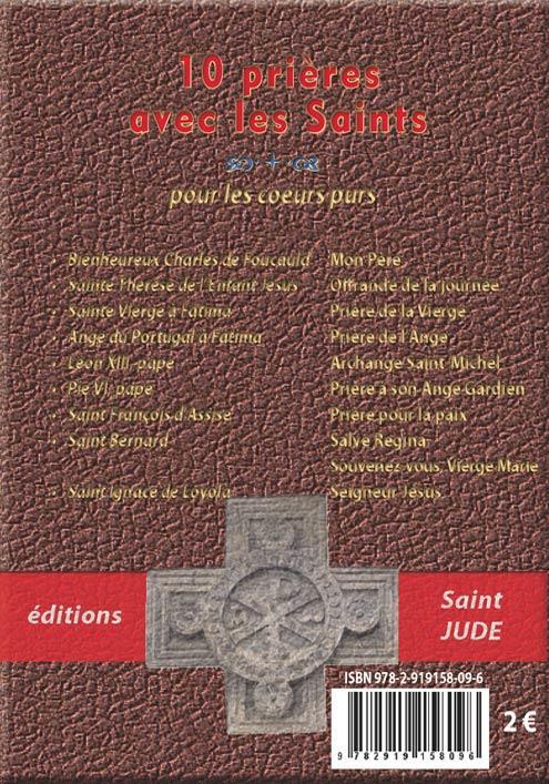 Prier avec les saints ; mon petit livre de prières