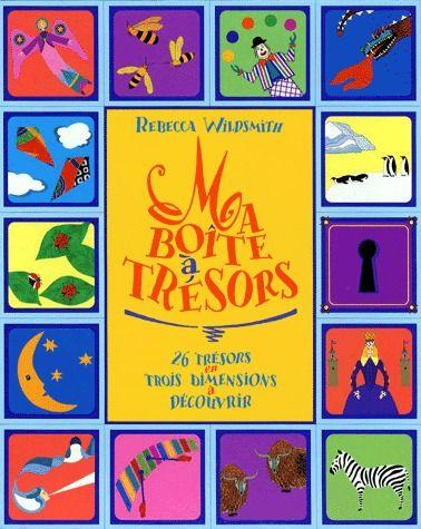 ma boite à trésors ; 26 trésors en trois dimensions à découvrir