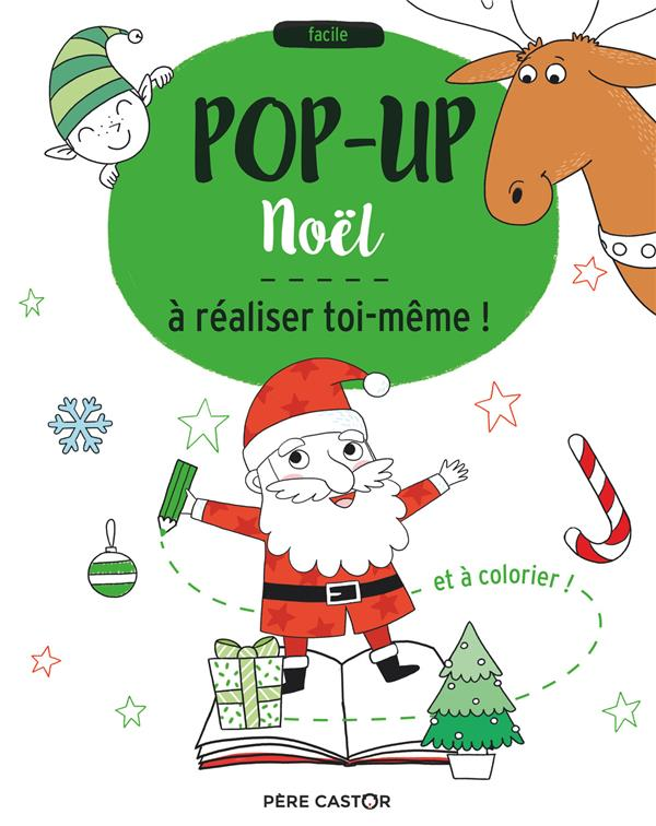 Noël, pop-up à realiser toi-même
