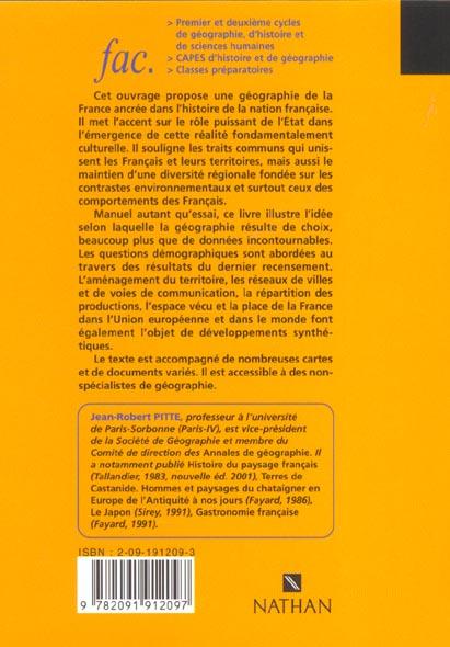La france ; 2e edition