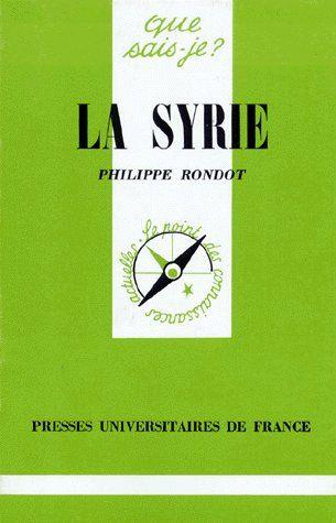 La syrie qsj 1704