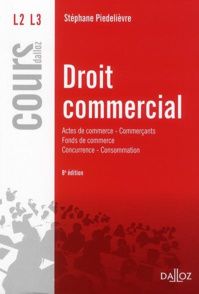 Droit commercial (8e édition)