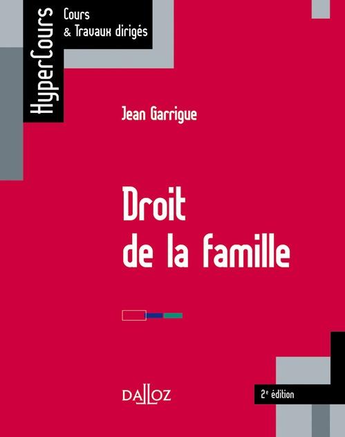 Droit de la famille (2e édition)