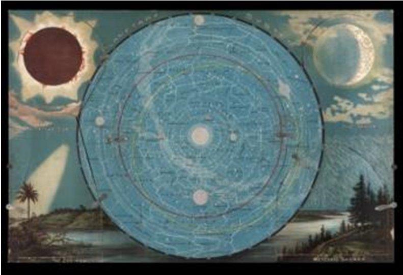 éclipse, lune et météorites